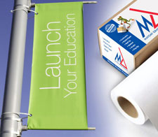 PVC banner heavy media from Mayday