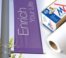 PVC banner medium media from Mayday