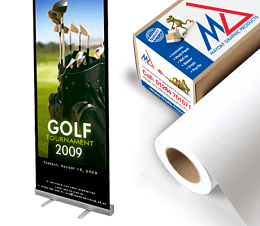 aqueous roll up pop up pvc