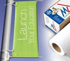 inkjet media heavy scrim banner opt