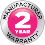 All Jetrix UV printers come with a two year manufacturer's warranty