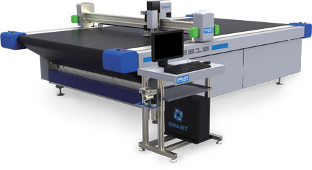 High resolution flatbed digital cutter