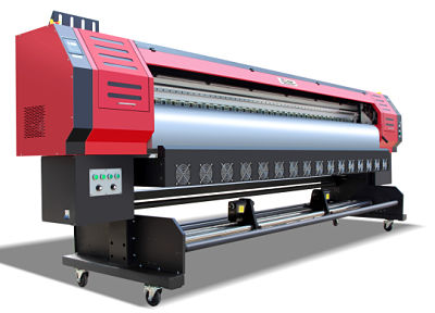 Eco Solvent 3 2m and 1 8m roll to roll printing systems