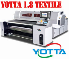Yotta 1.8 digital textile printer