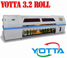 Yotta 3.2 Roll to Roll UV inkjet